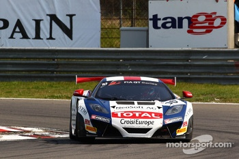 #10 Sébastien Loeb Racing McLaren MP4-12C: Mike Parisy, Andreas Zuber