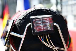 Lotus F1 Team tyre temperature controller