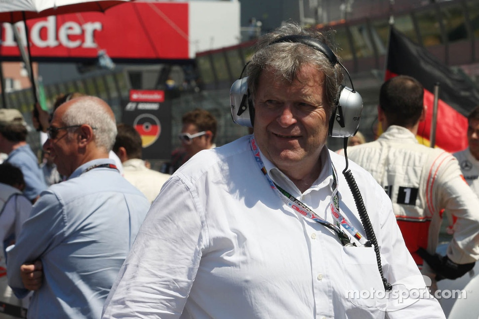 Norbert Haug, on the grid