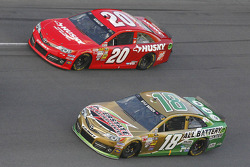 Kyle Busch and Matt Kenseth