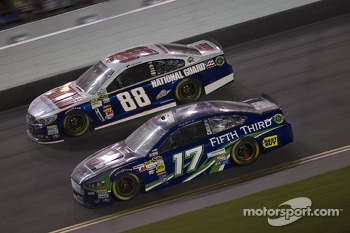 Ricky Stenhouse Jr. and Dale Earnhardt Jr.