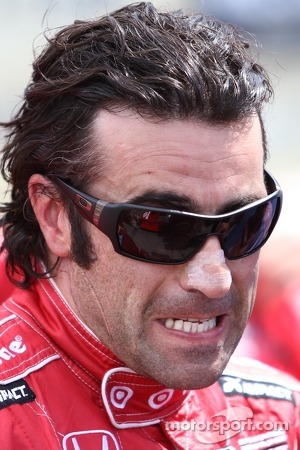 Dario Franchitti, Target Chip Ganassi Racing Honda celebrates