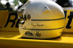 René Arnoux's helmet