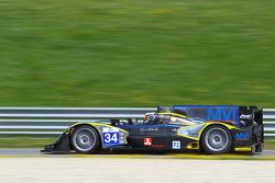 #34 Race Performance ORECA 03 JUDD: Michel Frey, Patric Niederhauser