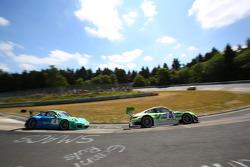 Peter Dumbreck, Martin Ragginger, Falken Motorsport, Porsche 911 GT3 R Michael Illbruck, Robert Renauer, Pinta Team Manthey, Porsche 911 GT3 R
