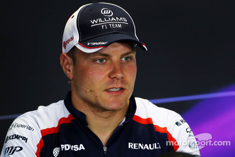 Valtteri Bottas, Williams in the FIA Press Conference