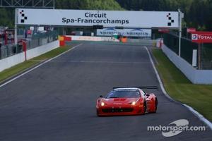 #59 AF Corse Ferrari 458 Italia: Duncan Cameron, Matt Griffin, Alex Mortimer, Toni Vilander