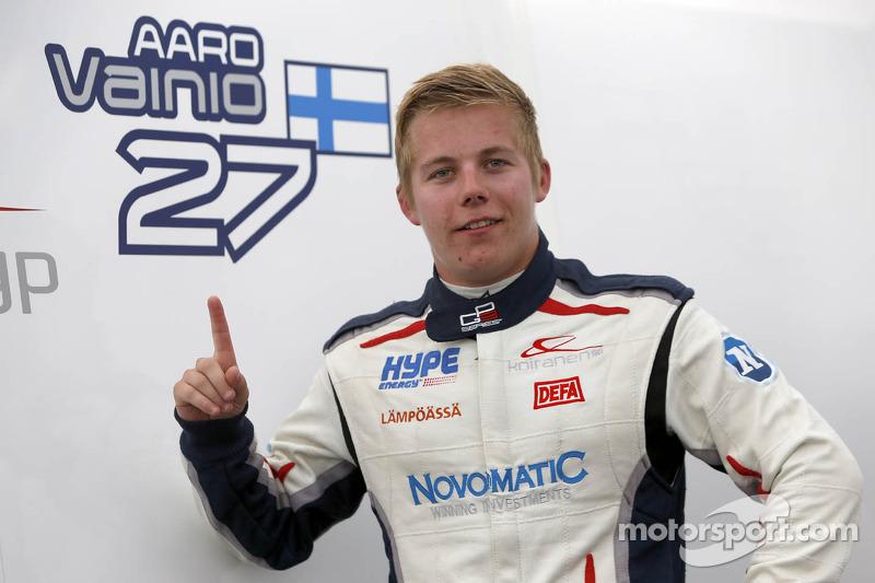Polesitter Aaro Vainio