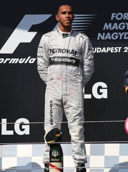 1st place Lewis Hamilton, Mercedes