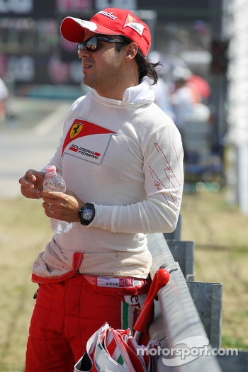 Felipe Massa, Ferrari on the grid