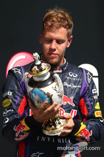 3rd place Sebastian Vettel, Red Bull Racing