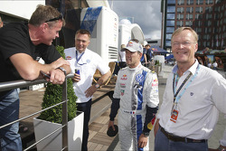Sébastien Ogier and Ari Vatanen