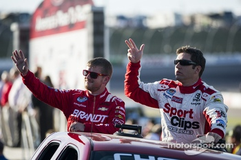 Justin Allgaier and Elliott Sadler