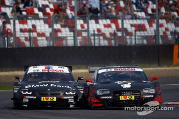 Bruno Spengler, BMW Team Schnitzer BMW M3 DTM and Edoardo Mortara, Audi Sport Team Rosberg Audi RS 5 DTM