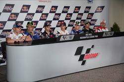 MotoGP rider press conference