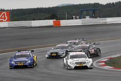 Gary Paffett, Mercedes AMG DTM-Team HWA DTM Mercedes AMG C-Coupe, Pascal Wehrlein, Mercedes AMG DTM-Team Mücke DTM Mercedes AMG C-Coupe