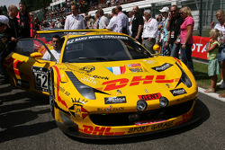 #52 Sport Garage Ferrari 458 Italia: Romain Brandela, Leonardo Gorini, Stéphane Lemeret, Thierry Prignaud