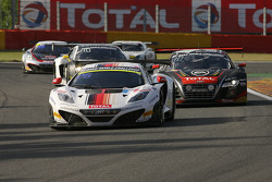 #12 ART Grand Prix McLaren MP4-12C: Yann Goudy, Gilles Vannelet, Gr_©goire Demoustier, Ulrich Amado