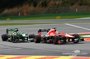 Jules Bianchi, Marussia F1 Team and Charles Pic, Caterham