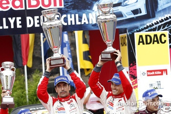 Winner Dani Sordo, Carlos del Barrio, Citroen DS3 WRC #3, Citroen Total Abu Dhabi World Rally Team