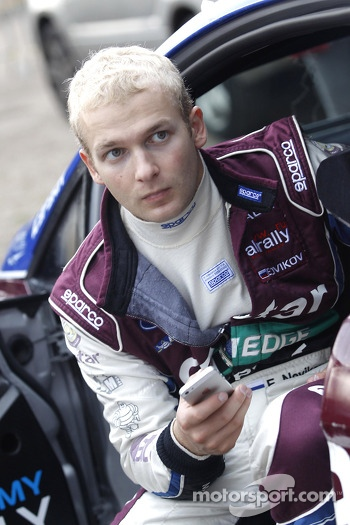 Evgeny Novikov, Ford Fiesta WRC #5 Qatar M-Sport World Rally Team