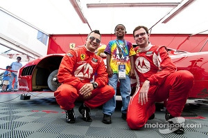 The Ronald McDonald house visits Leh Keen, Alessandro Balzan