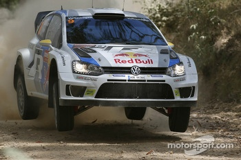 Andreas Mikkelsen and Paul Nagle, Volkswagen Polo WRC, Volkswagen Motorsport