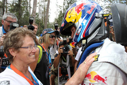 Sébastien Ogier and his family
