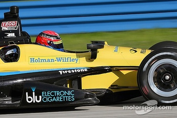 Jack Hawksworth tests with Rahal Letterman Lanigan Racing