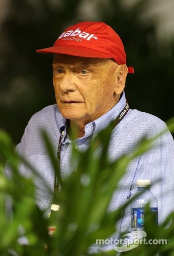 Niki Lauda, Mercedes Non-Executive Chairman 21