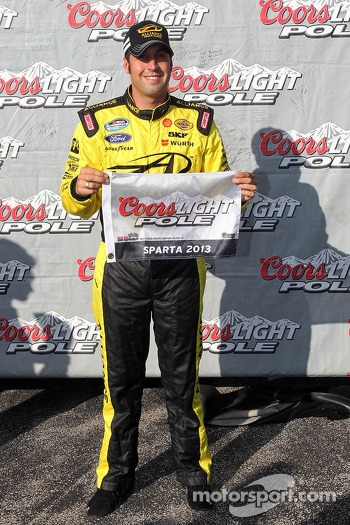 Polesitter Sam Hornish Jr.