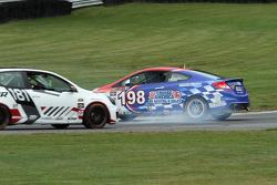#198 RSR Motorsports Honda Civic SI: Sarah Cattaneo, Chris Puskar