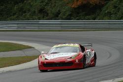 #69 AIM Autosport Ferrari 458: Emil Assentato, Anthony Lazzaro