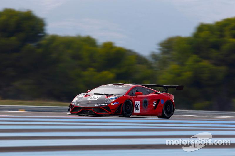 #60 Kox Racing Lamborghini Gallardo LP600 GT3: Peter Kox, Nico Pronk, Dennis Retera