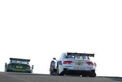Filipe Albuquerque, Audi Sport Team Rosberg Audi RS 5 DTM and Mike Rockenfeller, Audi Sport Team Phoenix Racing Audi A5 DTM