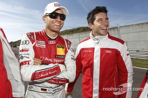 Mike Rockenfeller and Timo Scheider