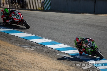 Tom Sykes and Eugene Laverty