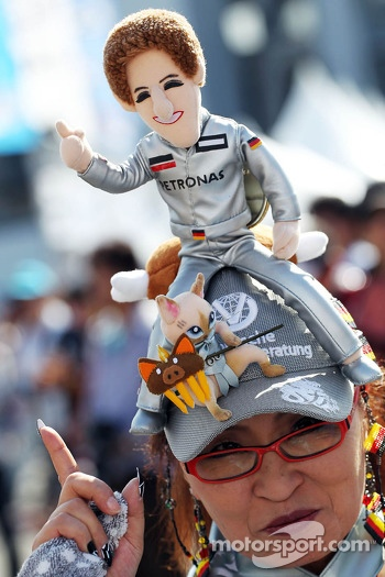 A Michael Schumacher, fan