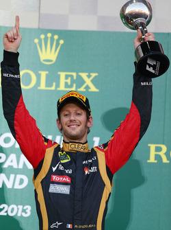 3rd place Romain Grosjean, Lotus F1 Team