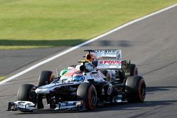 Valtteri Bottas, Williams F1 Team and Paul di Resta, Force India Formula One Team