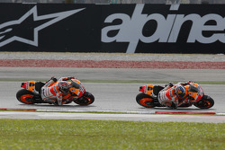 Dani Pedrosa and Marc Marquez