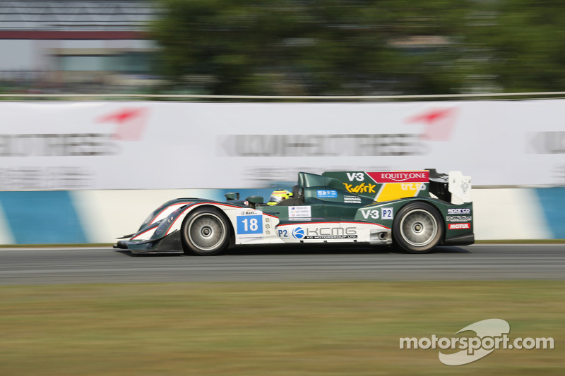 #18 KCMG Oreca-Nissan: James Winslow, Gary Thompson, Jordan Oon