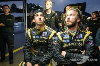 Neel Jani and Nick Heidfeld