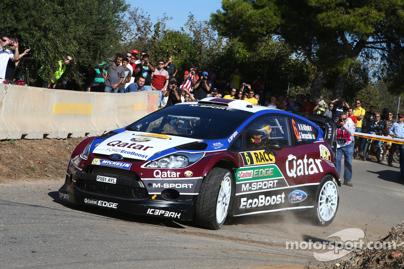 Nasser Al-Attiyah and Giovanni Bernacchini, Ford Fiesta RS WRC