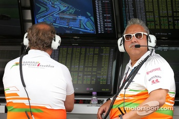Vijay Mallya, team owner, Force India Formula One Team