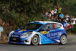 Abdulaziz Al Kuwari and Killian Duffy, Ford Fiesta RRC