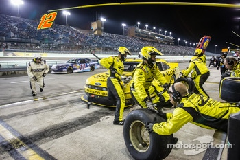 Pit stop for Sam Hornish Jr.