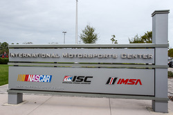 Unveil of the addition of IMSA logos to signage outside the eight-story IMC building that is headquarters to IMSA, NASCAR and ISC
