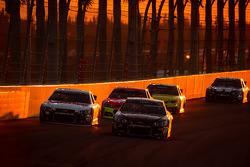 J.J. Yeley, Tommy Baldwin Racing Chevrolet and Dale Earnhardt Jr., Hendrick Motorsports Chevrolet