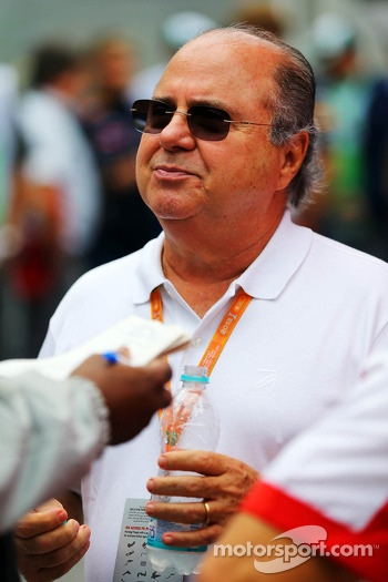 Luis Antonio Massa, father of Felipe Massa, Ferrari
